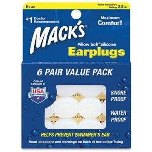 Mack´s Pillow Soft® Silicone Putty Ear Plugs 6 pair